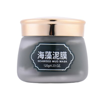 Seaweed Mud Mask with Moisturizing Oil-contral Shrink Pores Deep Cleaning Repairing Cleaning Anti-Aging Skin Care Face Mask