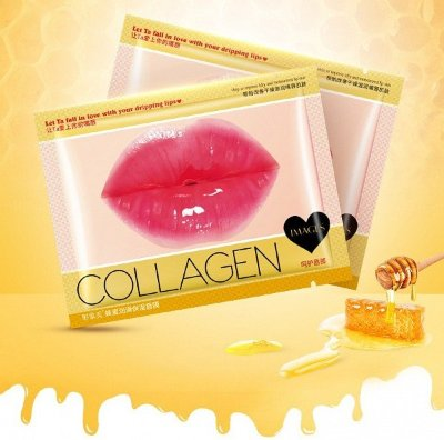 Маска для губ с коллагеном и мёдом Images Collagen Honey