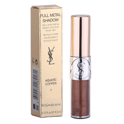 Жидкие тени для век Yves Saint Laurent Full metal Shadow(AQUATIC COPPER)7